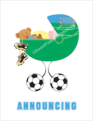 Soccer Birth Announcements