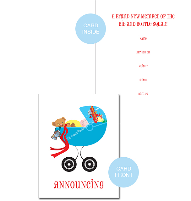 Birth Announcements Airplane Birth Announcements Baby – Classic Baby Announcements