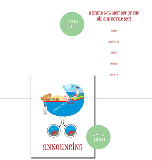 Birth Announcements Summer Birth Announcements Baby – Classic Baby Announcements