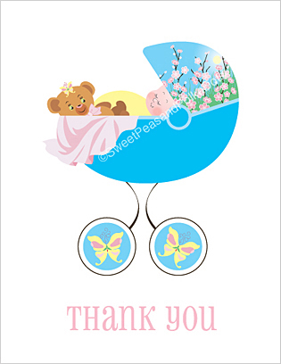 Baby Thank You Cards, Baby Shower Thank You Cards, Thank You Cards ...