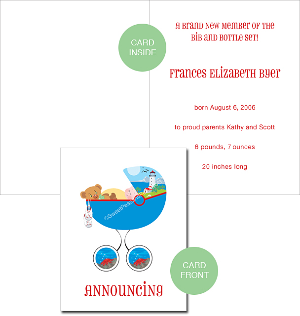 Lakeshore Custom Birth Announcements