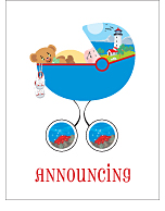 Lakeshore Classic Birth Announcements