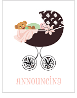 Regency Classic Birth Announcements