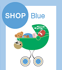 Blue Color Combinations Football Classic Birth Announcements