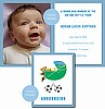 Soccer Photo Birth Announcements